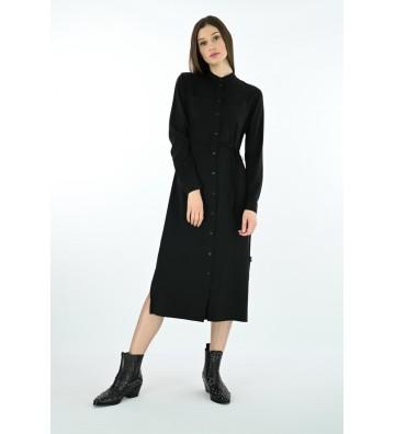 Calvin Klein šaty Belted Midi